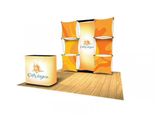 EXPRESS Pop-up Kit C - 8 foot backwall display