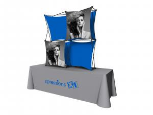 X1 5ft - 2x2 B Fabric Table Top Pop-Up Display