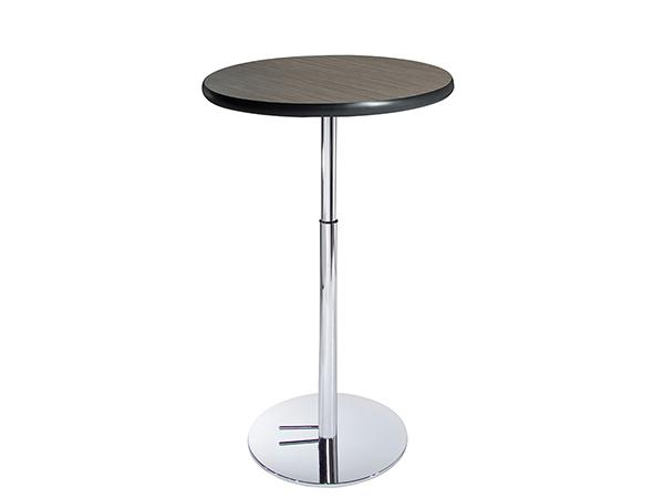 "30"" Round Madison Bar Table w/ Hydraulic Base