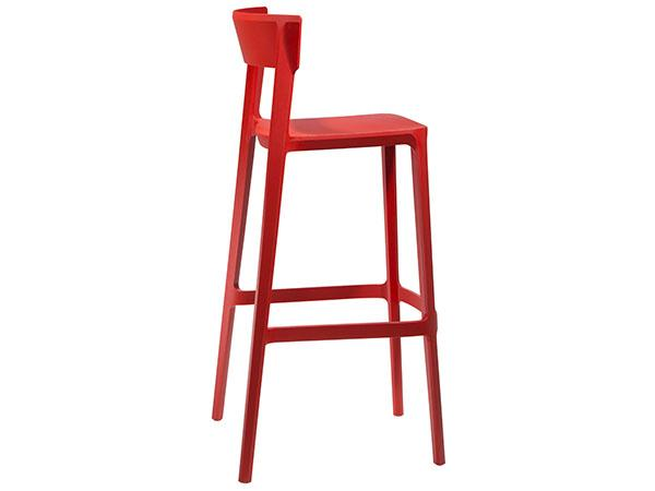 CEBS-025 | Blade Barstool  Red-- Trade Show Furniture Rental