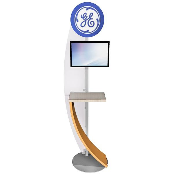 ECO-14K Sustainable Kiosk - View 1