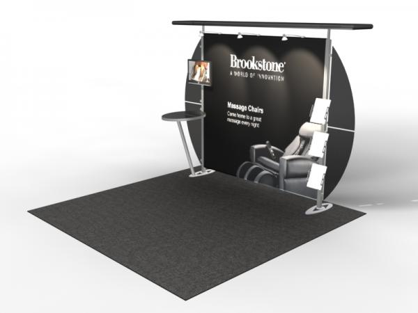 VK-1308 Trade Show Exhibit with Silicone Edge Graphics (SEG) -- Image 4