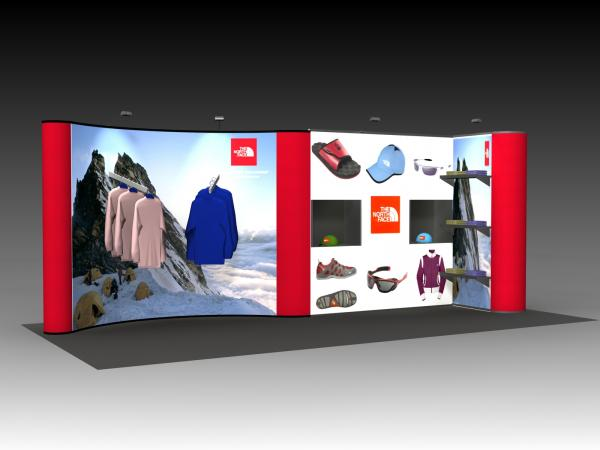 QD-228 Tradeshow Pop Up Display -- Image 1