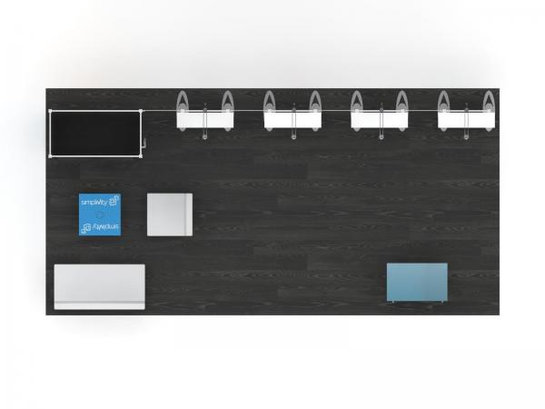 RE-2095 Trade Show Inline Exhibit -- Plan View